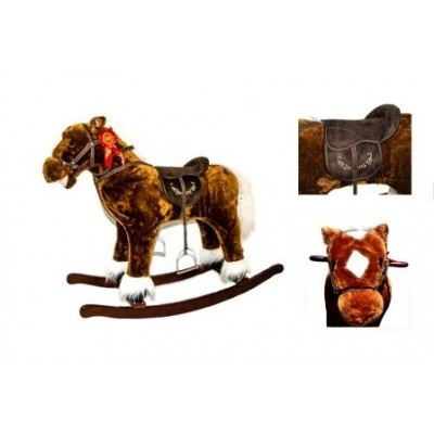 X-Large Rocking Horse 32 Inch With Sound