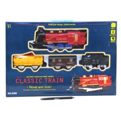 Battery Operated Classic Train Set