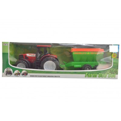 Farm Use Tractor With Trailor Medium
