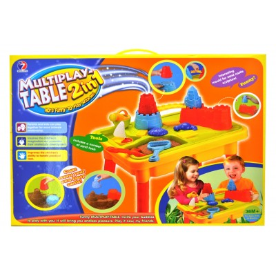 Multiplay Table 2 In 1