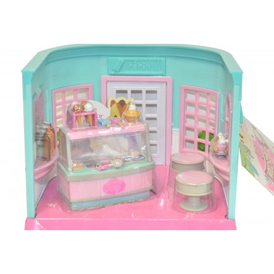 Li'L Woodzeez Ice Cream Parlor Playset