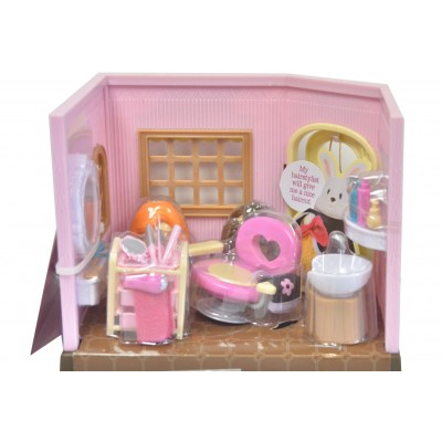 Li'L Woodzeez Hair Salon Playset