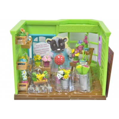 Li'L Woodzeez Flower Shop Playset