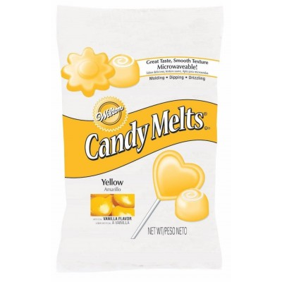 Wilton Intl Yellow Candy Melts