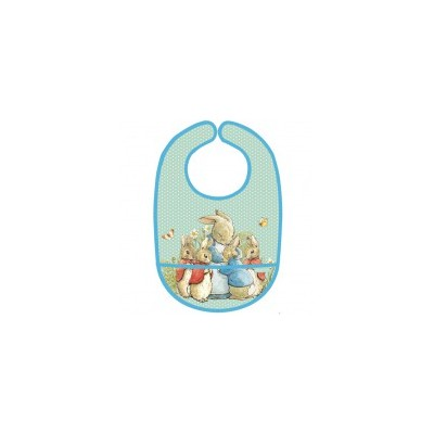 Peter Rabbit - Bib - Green
