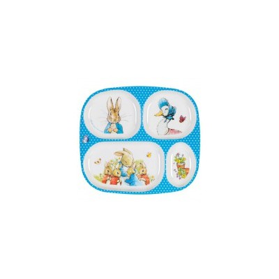 Peter Rabbit - 4-Compartment Plate