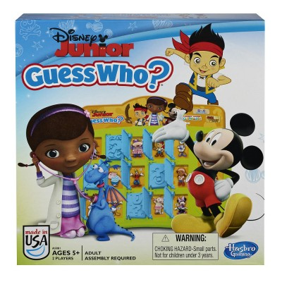 Disney Jr Guess Who