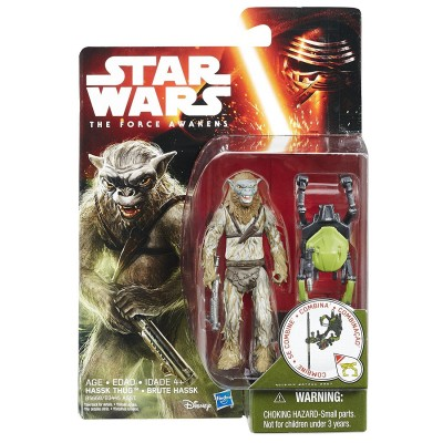 Star Wars E7 Single Figure Jungle Space Ast