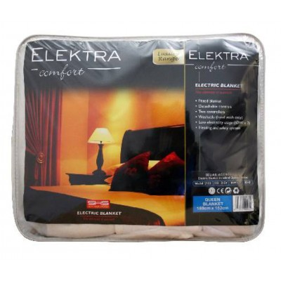 Elektra Electric Blanket Queen Standard Fitted