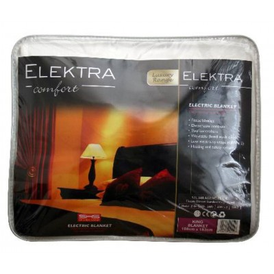 Elektra Electric Blanket King Standard Fitted