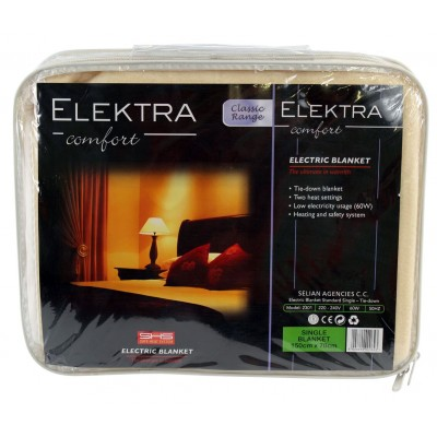Elektra Classic Electric Blanket Single Tie Down