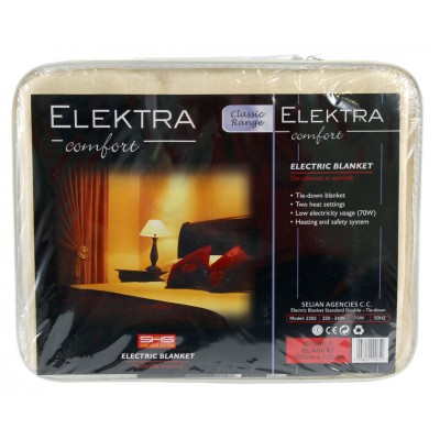 Elektra Classic Electric Blanket Double Tie Down