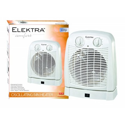 Elektra Oscillating Fan Heater