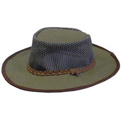 Ram Canvas/Panama Bush Hat - Small