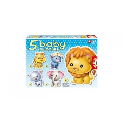 Educa Baby Wild Animals Puzzles  24+ Months