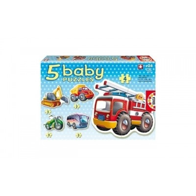 Educa Baby Vehicles Puzzles 24+ Months