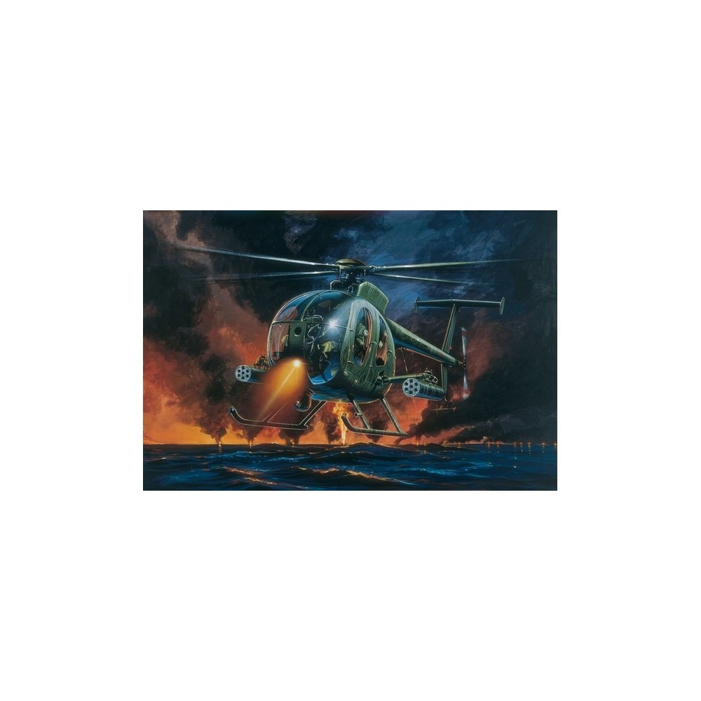 Italeri 1/72 Ah-64 Night Fox