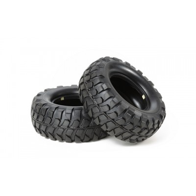 Tamiya Soft Rock Block Tyre For Cc01 (2)
