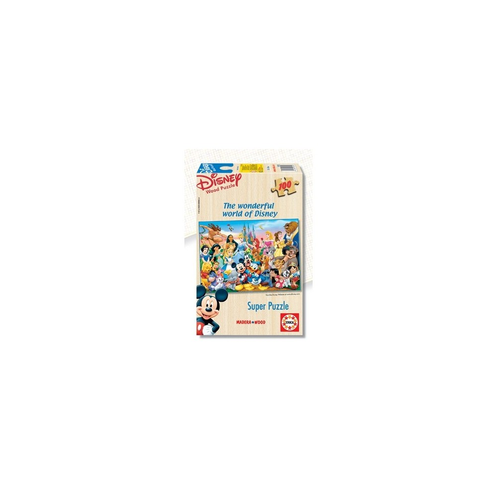Educa The Wonderful World Of Disney Puzzle (1X100Pc)