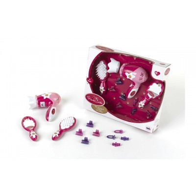 Klein toys Princess Coralie Hairdressing Set with Hair-Dryer & S