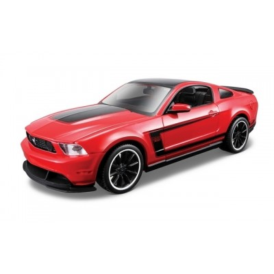 Maisto 1/24 Ford Mustang Boss 302 2012 Kit