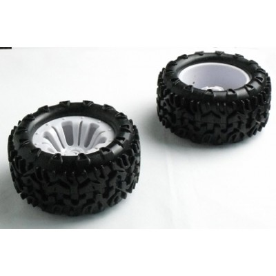 River Hobby Tyre & Wheel Set For Truck (2)