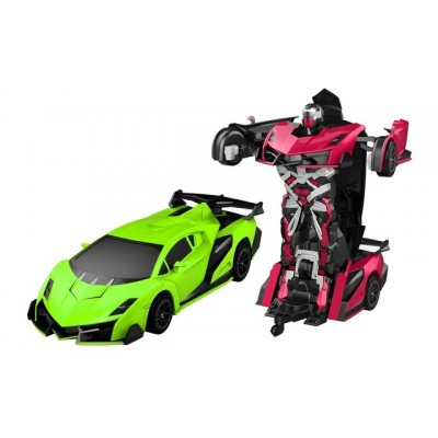 Funny Box Radio Controlled Justice Fighter Autobots Transf. Car (Lambo)