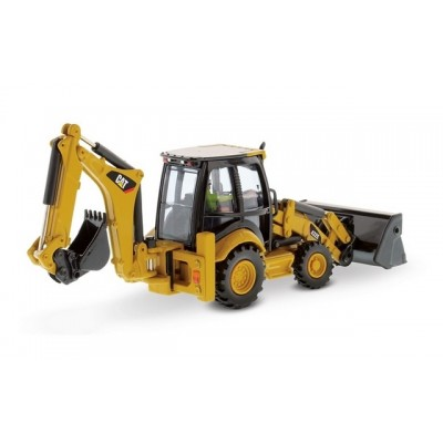 Diecast Masters 1/50 Cat 432E Backhoe Loader