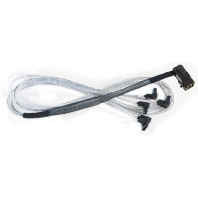 Intel High Density Ms Server Cable Kit - 900Mm Hd To 4XSata R-Angle