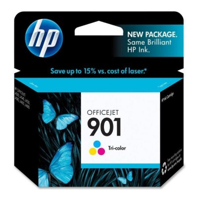 HP 901 Tri-Colour Officejet Ink Cartridge Upto 36