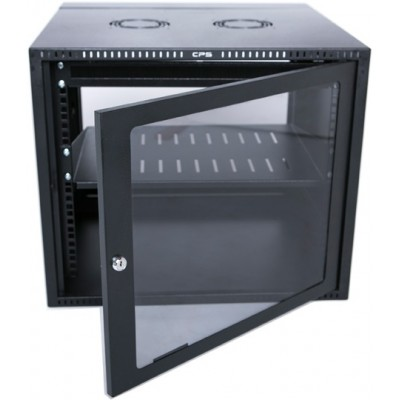 Rct 12U Networking Cabinet 450Mm Gls Dr Wall Mnt