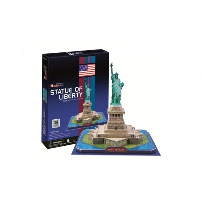 Cubic Fun Statue Of Liberty (Usa) 39Pieces