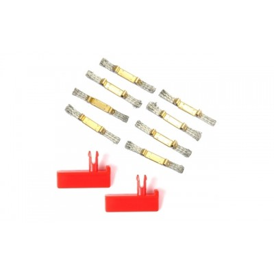 Carrera 8 Contact Brushes + 2 Guide Keels (Universal)