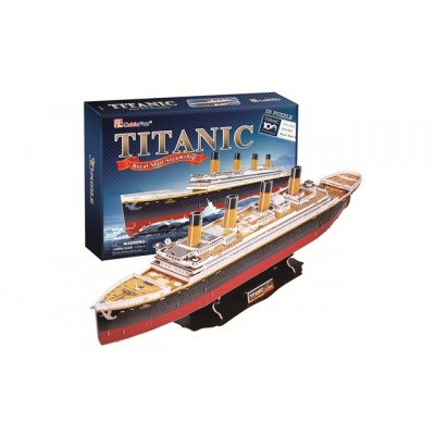 Cubic Fun Titanic (Large) 113Pieces