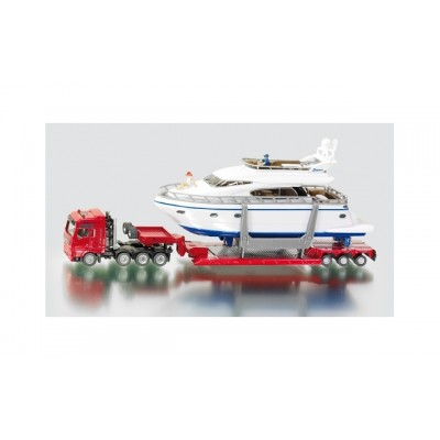 Siku 1/87 Man Heavy Haulage Transporter with Yacht