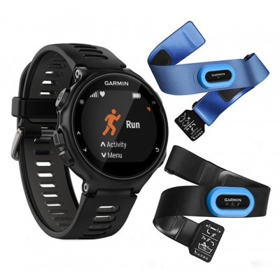 Garmin Forerunner 735Xt Black & Grey Tri-Bundle