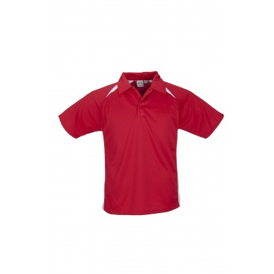 Splice Mens Golf Shirt Red Size 4XL