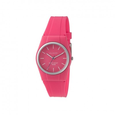 Hallmark Girls Pink Analogue Resin Watch