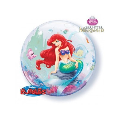 22 Inch Single Bubble Lit Mermaid 1Ctp Foil Bag balloon