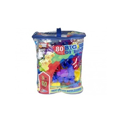 Blocktech - Blocks Big Bag Of 80 Pieces