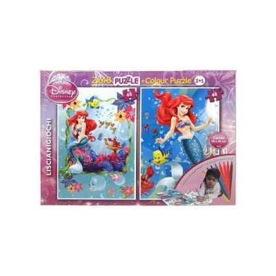 48 Piece Puzzle Plus Colour Super 2X48 Assorted