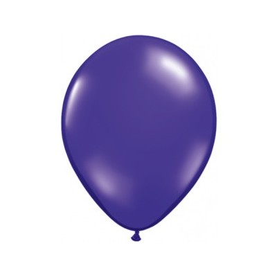 3 Ft Latex Quartz Purple 2Ctp Polybag balloon