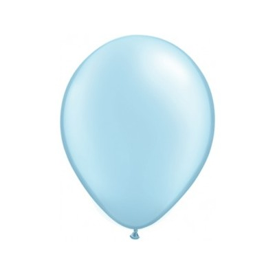 5 Inch Latex Pale Blue Rnd 5 100Ctp Polybag balloon