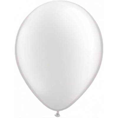 11 Inch Latex Pearl White 100Ctp Polybag balloon
