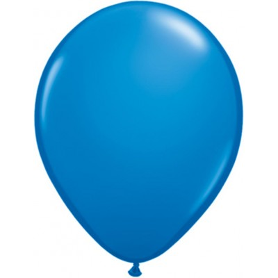 5 Inch Latex Plain Latex Rnd Dark Blue 100Ctp Polybag balloon