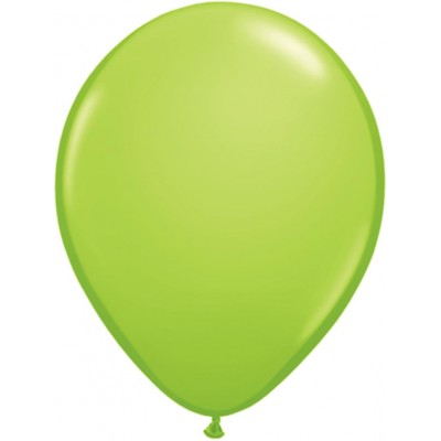 5 Inch Latex Plain Rnd Lime Green 100Ctp Polybag balloon