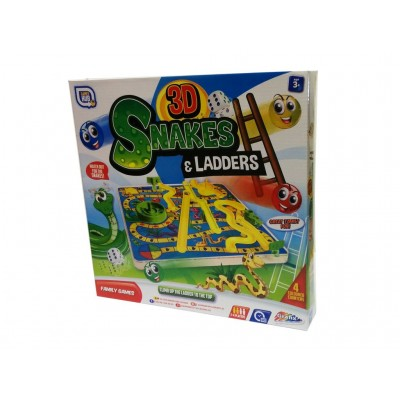 Games - 3D Snakes And Ladders