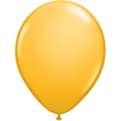 11 Inch Latex Rnd Goldenrod 100Ctp Polybag balloon