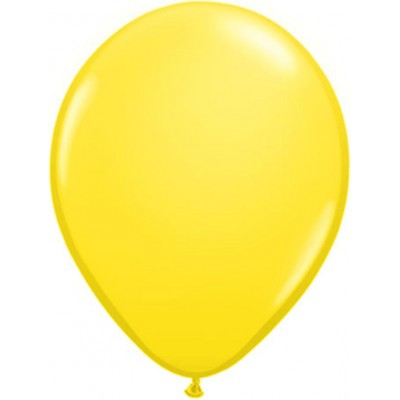 11 Inch Latex Rnd Yellow 100Ctp Polybag balloon