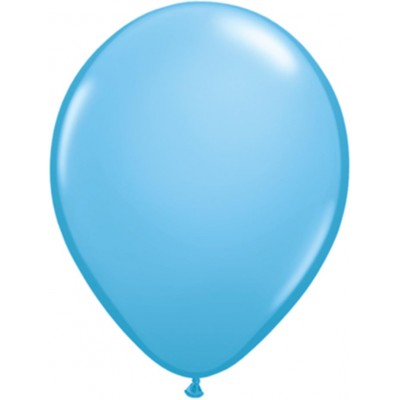 11 Inch Latex Rnd Pale Blue 100Ctp Polybag balloon